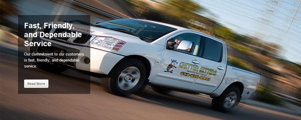 Fast, Friendly, and Dependable San Diego Animal Control Service